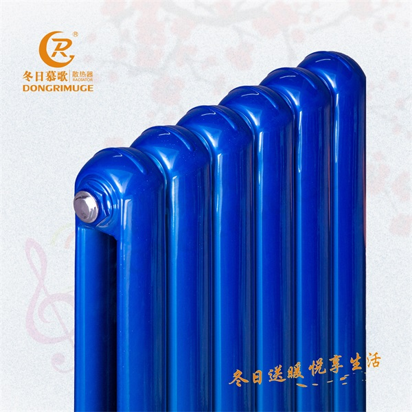 冬日慕歌 暖气片家用水暖 蓝钢7530 壁挂式立地式
