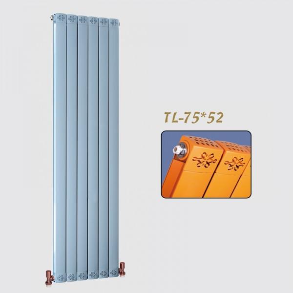 圣蒂罗澜家用水暖壁挂式铜铝复合75X52散热器耐腐蚀