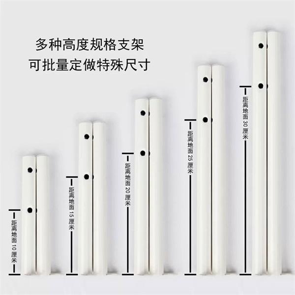 钢制暖气片、散热器落地支架 钢二钢三 薄墙可按要求定制