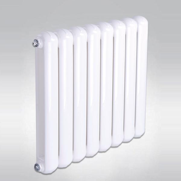 家用钢制一体圆片头散热器 70x30暖气片可定制 集中供暖