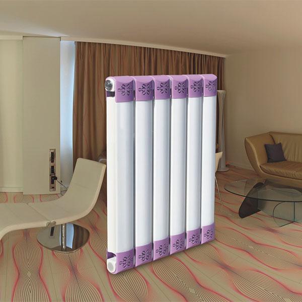 元捷达暖气 钢制散热器 低碳钢挂墙式立地式 70x63