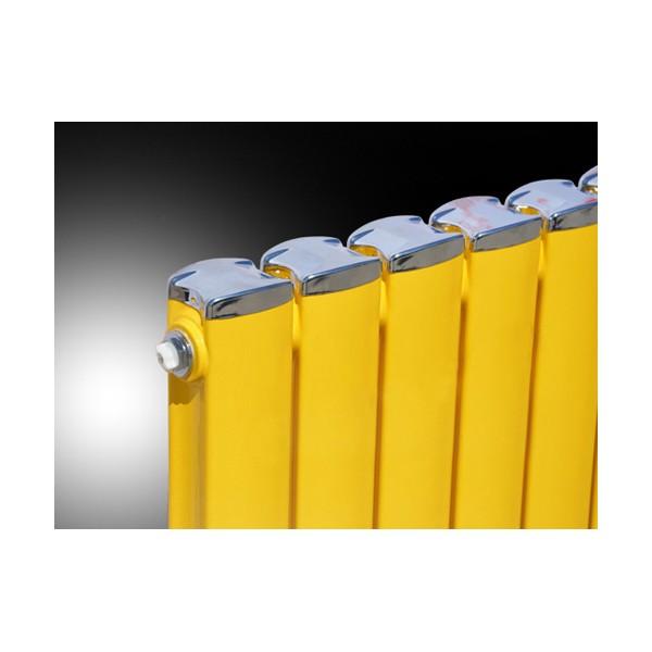 水立方采暖散热器可定制 家用钢制暖气片安装 金象散热器