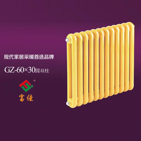 60-30圆双柱系列散热器  壁挂式家用钢制暖气片 富佳