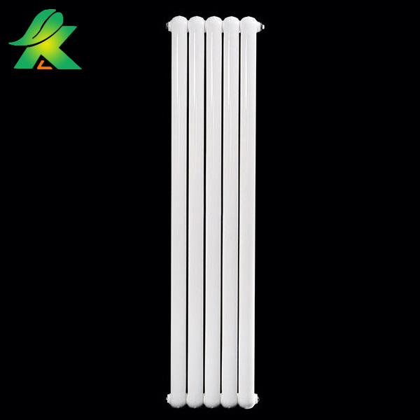 天津采暖散热器厂家康斯普利直销家用钢制70x30圆双柱暖气片