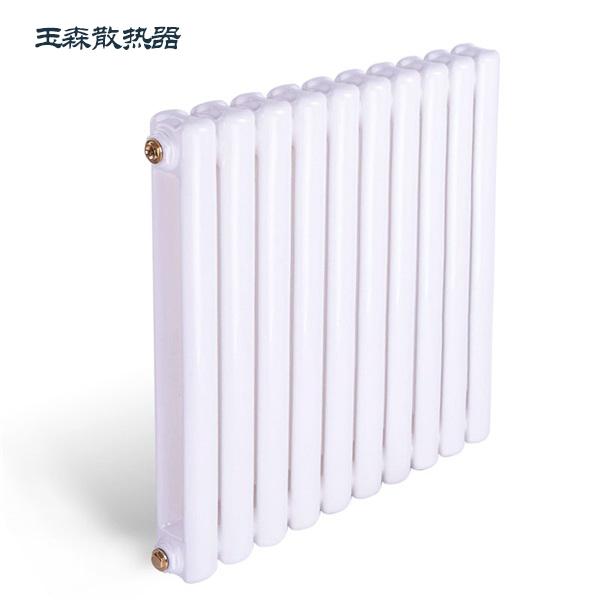 山东散热器生产厂家玉森批发优质钢制60方散热器