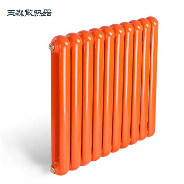 玉森暖气片家用壁挂采暖钢制50圆散热器集中供暖