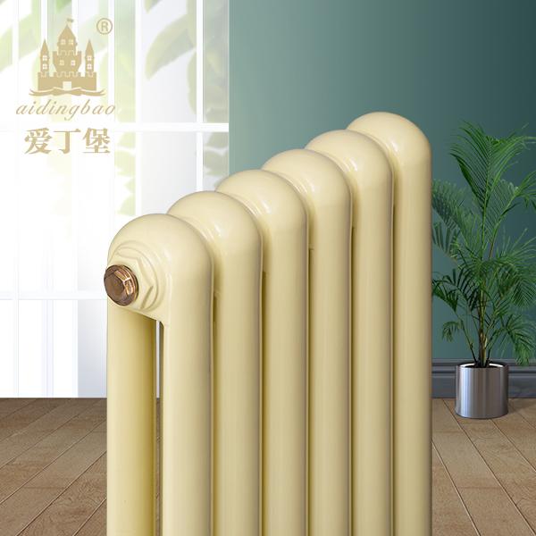 钢二柱散热器 暖气片 钢二柱暖气片 家用立式钢制暖气片