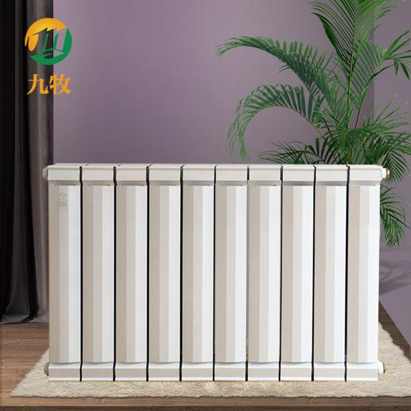 供应铜铝复合暖气片 铜铝复合水暖散热器