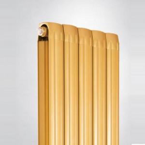 香港元捷达铜铝复合80x80暖气片大水道直销