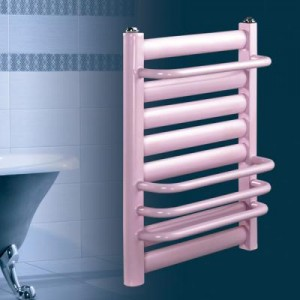 天津元捷达600钢制壁挂式卫浴浴室暖气片