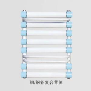 河南维尼罗铜钢铝复合背篓浴室壁挂式散热器
