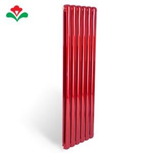 鸿顺和工程专用钢制70圆红色暖气片