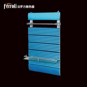 法罗力铜铝复合染色背篓 家用卫生间铜铝壁挂式小背篓暖气片