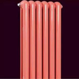 久诺钢制50×25圆双柱散热器