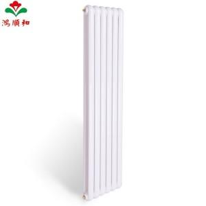 鸿顺和暖气片家用水暖散热器明装壁挂式方头圆头钢制60