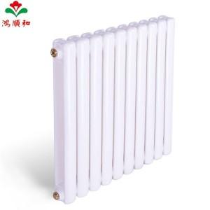 鸿顺和暖气片 家用水暖钢制壁挂式集中散热器 钢60方款