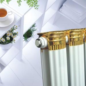 天津维尼罗铜铝复合暖气片厂家罗马柱散热器