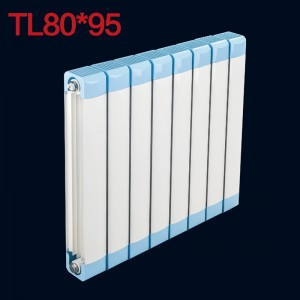九牧精品散热器 家用铜铝集中供暖自采暖暖气片 80*95