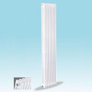 客厅专用壁挂式暖气片 水暖暖气片 白色暖气片 钢三柱散热器