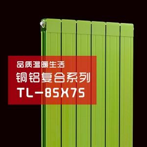 85X75裕玛铜铝复合散热器