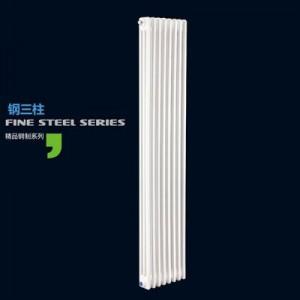 天津津圣达钢三柱散热器静电喷塑耐压力强