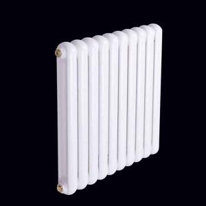 圣世劳斯钢制50圆双柱散热器集中采暖