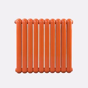 钢制60圆散热器 圣伦蒂斯钢制散热器  钢制壁挂式水暖散热器