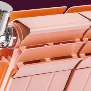 家用铜铝复合132x65散热器