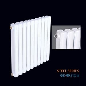 钢制60方双柱散热器