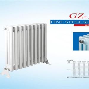 防腐耐用钢管三柱散热器gz304