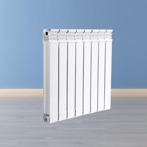 防熏墙铜铝复合75X75散热器