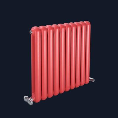 吉林60x30钢制圆双柱散热器招