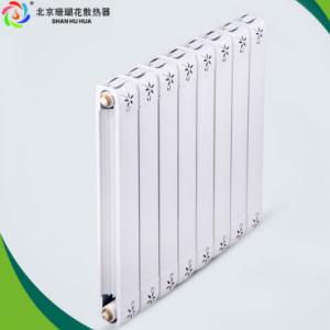 天津珊瑚花铜铝复合80x80新款散热器