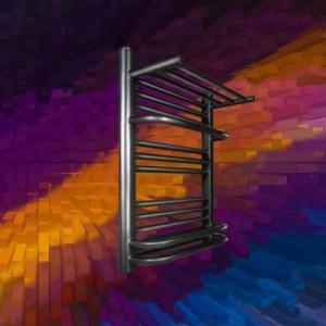 天津钢制卫浴置物架散热器