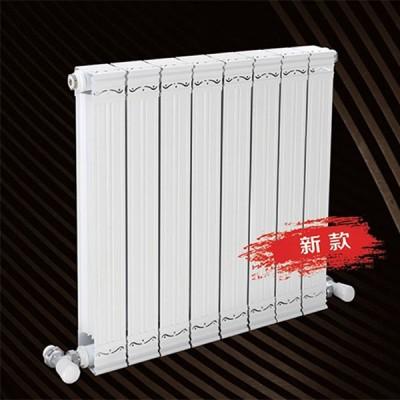 宁夏家用铜铝复合75x75散热器