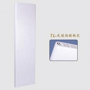 新款铜铝复合无缝插接板式散热器