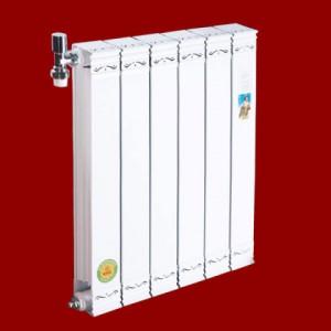哈尔滨供应圣蒂罗澜散热器-铜铝复合82X75暖气片