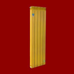 新疆批发供应圣蒂罗澜铜铝复合暖气片75X75防熏墙