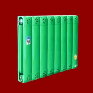 河北供应圣蒂罗澜散热器-铜铝95×80枫叶暖气片