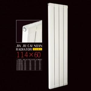 天津铜铝复合114-60散热器批发