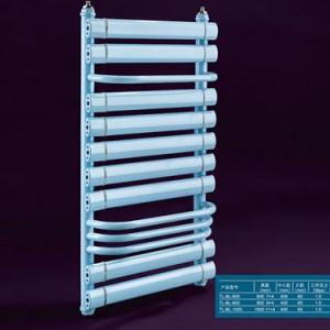 南充铜铝复合9+4扁背篓散热器供应