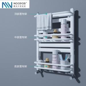 暖伯尔小背篓暖气片家用浴室卫生间厨房壁挂式钢制背篓