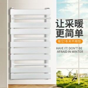 富佳铜铝复合卫浴暖气片壁挂式水暖散热器家用厨卫小背篓