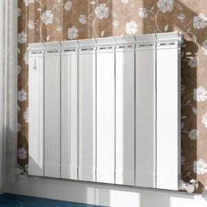 鲁本斯家用壁挂式【大水道】铜铝90×90B暖气片