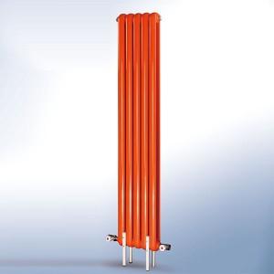 北京厂家供应钢制散热器50一体圆片头